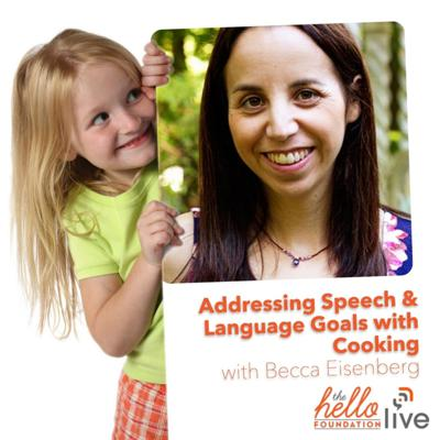 Cover art for Q & A on Addressing Speech & Language Goals with Cooking with Becca Eisenberg