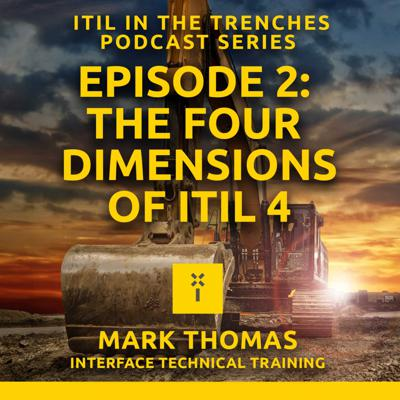 Cover art for 02: The four dimensions of ITIL 4