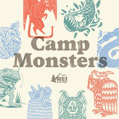 These are the stories of impossible encounters with impossible creatures in the wildest corners of North America.  A wolf man with bat wings thirty feet across.  An enormous eel in America's most popular lake.  A frog half the size of a man.  Something terrible that howls in the Ozark nights.  We'll travel the country, sit around campfires and talk about that thing that ran across the trail in the middle of the night, just beyond the beam of your flashlight. Come closer to the fire.  Let's hear the next legend.