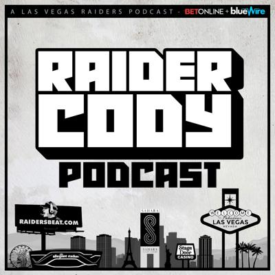 The hottest new podcast in Raider Nation.   Tune in for all the latest Las Vegas Raiders news & discussions. Featuring host & producer Raider Cody (@RaiderCody) & Kenny King Jr (@KennyKing_Jr) from #RealTalk.  The Official Podcast of RaidersBeat.com Member of the Blue Wire Podcasting Network  Visit RaiderCody.com for details Follow us on Twitter @RaiderCodyPod