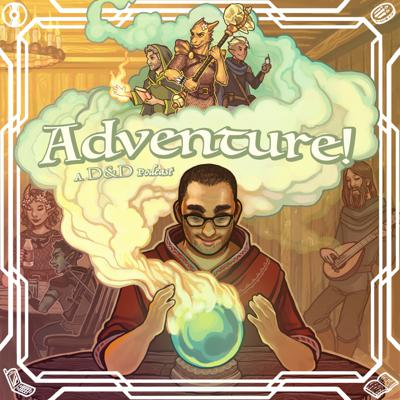 Dungeons and Dragons actual play podcast hosted by Bobby Shortle, Jacqui Turner, Brian Verderosa, Justin Reilly, and Bob Reyer. Each episode of Adventure is fully produced with soundscapes, music, and SFX from our resident druid Justin Reilly.  Go on thrilling and ridiculous adventures with first time D & D players.