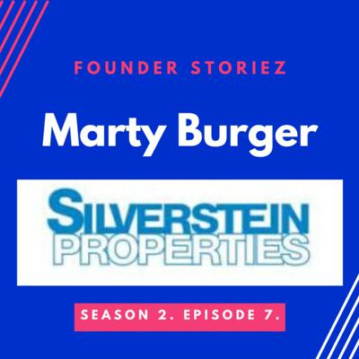 Cover art for Marty Burger CEO Silverstein Properties