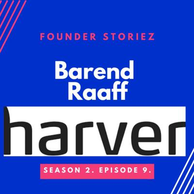 Cover art for Barend Haaff CEO & Founder Harver