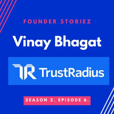 Cover art for Vinay Bhagat Founder & CEO TrustRadius