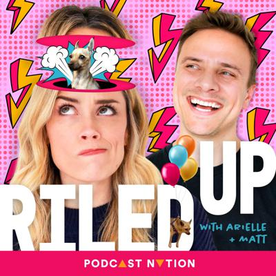 Engaged couple Arielle Vandenberg and Matt Cutshall have hilarious off-the-cuff conversations about whatever happens to be going on in their lives, and their thoughts on whatever is happening in the world around them. This comedic duo have paved their ways in Hollywood and on your Instagram feed, and now you can hear what's really going on in their crazy lives. Let's get riled up! **New episodes Tuesdays & Thursdays**