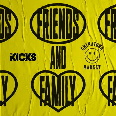 """""""Friends and Family"""" is a collaboration between B/R Kicks, Chinatown Market, and At Will Media and is devoted to the streetwear community and culture. In every episode, designers from Chinatown Market will collaborate with your favorite athletes, musicians and artists to create exclusive merch - and along the way they discover they have much more in common than just the brands they wear. Produced by At Will Media."""