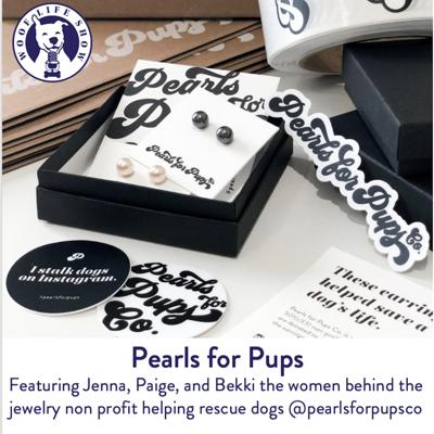 Cover art for Pearls for Pups - Helping Rescue Pups with Style