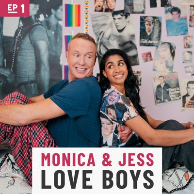 Cover art for Part 1: Monica and Jess Love Boys with Dax Shepard