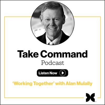 Cover art for #1 - 'Working Together' with Alan Mulally