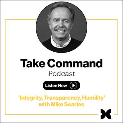 Cover art for #2 - 'Integrity, Transparency, Humility' with Mike Searles