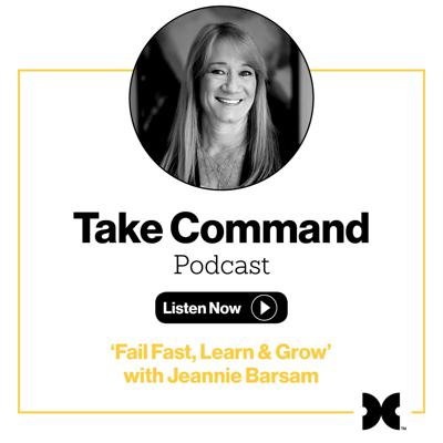 Cover art for #3 - 'Fail Fast, Learn and Grow' with Jeannie Barsam