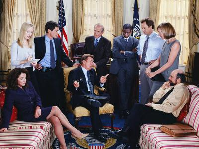 Cover art for The West Wing