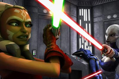 Cover art for Star Wars: The Clone Wars