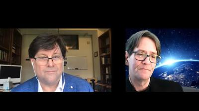 Cover art for Astronomy News with The Cosmic Companion Video and Podcast - Interview with Dr. Steven D'Hondt April 28, 2020