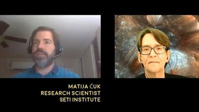 Cover art for Interview with Matija Ćuk, research scientist at the SETI Institute - Astronomy News with The Cosmic Companion Video and Podcast June 16, 2020