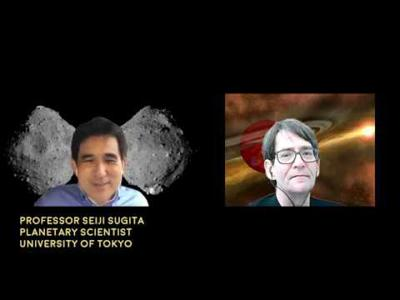 Cover art for Interview with Professor Seiji Sugita of the University of Tokyo - Astronomy News with The Cosmic Companion Video and Podcast June 2, 2020