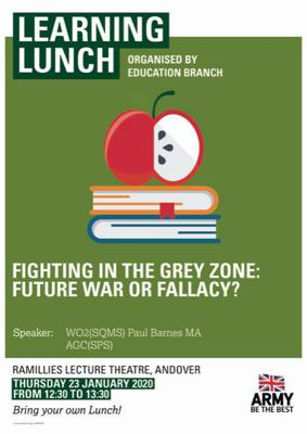 Cover art for Fighting in the Grey Zone, Future War or Fallacy – Paul Barnes