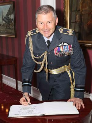 Cover art for Podcast with Air Vice-Marshal Ian Gale MBE MBA MA, Assistant Chief of the Air Staff