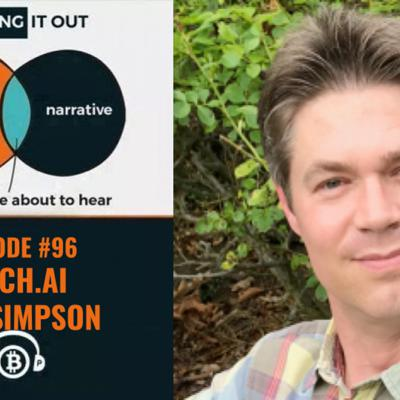 Cover art for Hashing It Out #96- Fetch.ai COO Toby Simpson
