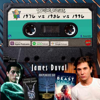 Cover art for James Duval goes Beast Mode on December 1976, 1986 & 1996 in this retro rumble!