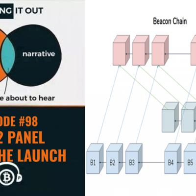 Cover art for Hashing It Out #98- ETH 2.0 Panel After The Launch