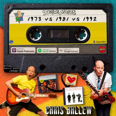 Cover art for Chris Ballew from The Presidents of the United States of America picks the best peaches from 1973, 1981 & 1992!