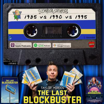 Cover art for The Last Blockbuster director Taylor Morden judges this B-movie battle between 1985, 1990 & 1995!