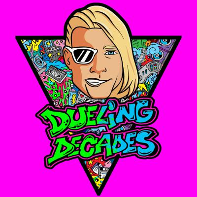 Dueling Decades is the totally awesome adult retro game show you've been looking for! Listen as the 1980s and the 1990s square off and do battle! Because it's your history, we just fight for it!  The rules of our game are simple!A coin flip shall decide who picks first, out of the 5 dueling decades categories (Movies, TV, Music, News, & Hot Products)The judge's ruling will determine who wins each round, allowing the victor to choose the next available category.The first 3 rounds are worth 1 point each… with rounds 4 and 5, worth 2 points apiece.The winning decade shall be decided by the highest overall score after all 5 rounds.