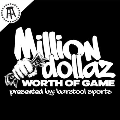 """Cover art for MILLION DOLLAZ WORTH OF GAME EP:69 """"RUBBING CARPETS"""""""