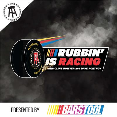 Barstool Sports presents Rubbin' is Racing, a NASCAR Podcast. Current NASCAR driver and fan favorite Clint Bowyer teams up with Barstool Sports Founder Dave Portnoy, who recently became a major ambassador for the sport. Clint brings a respected point of view as the winner of 10 races in the NASCAR Cup Series, and is one of the most unfiltered drivers in the sport, while Dave has never backed down from anything or anyone. Tune in to hear everything that happens behind the wheel and behind the catch fence. New Episodes release once a week, every Thursday.