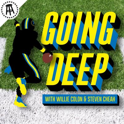 A weekly NFL podcast hosted by Super Bowl Champion Willie Colonand Barstool'sSr.NFLAnalyst, Steven Cheah. You'll get to know past and present NFL players underneath the helmet on this interview based podcast. They deliver the real stories from players that you won't hear on TV
