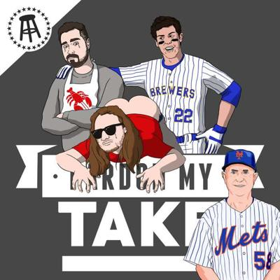Cover art for Christian Yelich, Pete Alonso's Derby Pitcher Dave Jauss & Big Ben's Diet