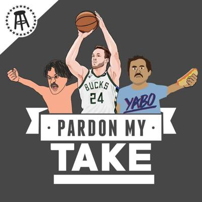 Cover art for NBA Champion Pat Connaughton + Mt Rushmore Of Sports We Could Medal In, Maybe