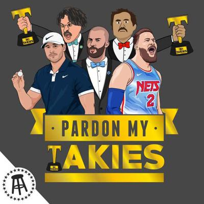 Cover art for The 2021 Takie Awards Plus Blake Bortles, Blake Griffin & Brooks Koepka For Blake Of The Year