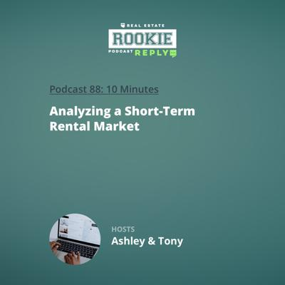 Cover art for Rookie Reply: Analyzing a Short-Term Rental Market