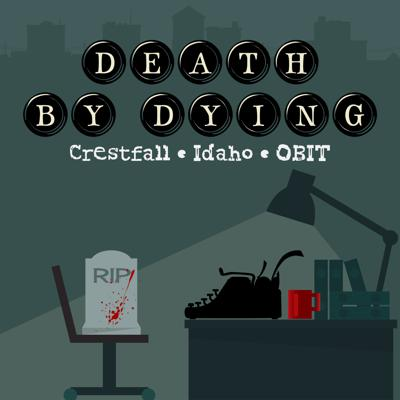 The Obituary Writer of Crestfall, Idaho finds himself deeply in over his head as he investigates a series of strange and mysterious deaths… when he is supposed to simply be writing obituaries. Along the way he encounters murderous farmers, man-eating cats, haunted bicycles, and a healthy dose of ominous shadows.