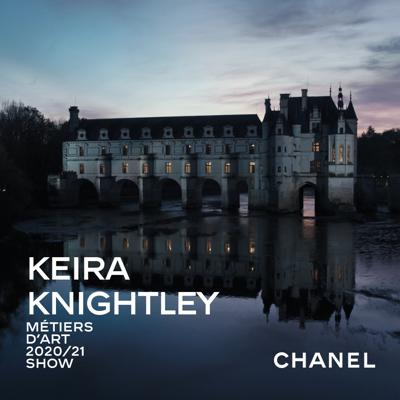 Cover art for The CHANEL 2020/21 Métiers d'art show:Keira Knightley