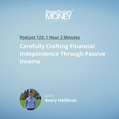 Cover art for 123: Carefully Crafting Financial Independence Through Passive Income with Avery Heilbron