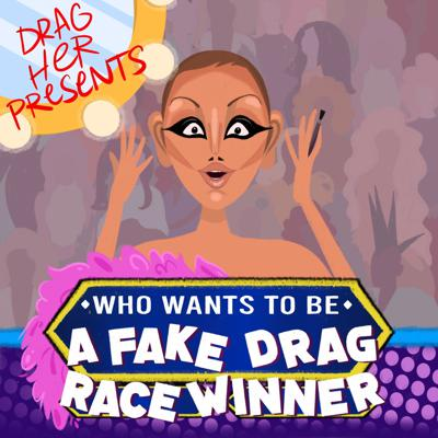 Cover art for Who Wants To Be A Fake Drag Race Winner! (w/ Vicky Vox)