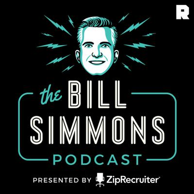 HBO and The Ringer's Bill Simmons hosts the most downloaded sports podcast of all time, with a rotating crew of celebrities, athletes, and media staples, as well as mainstays like Cousin Sal, Joe House, and a slew of other friends and family members who always happen to be suspiciously available.