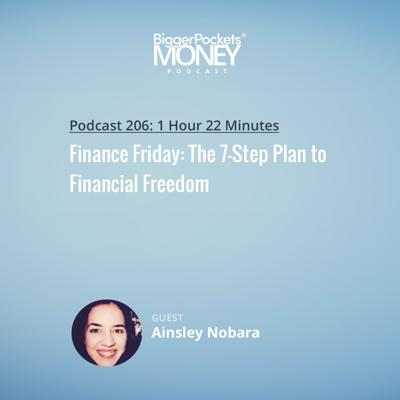 Cover art for 206: Finance Friday: The 7-Step Plan to Financial Freedom