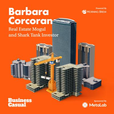 Cover art for Predicting the Future with Barbara Corcoran