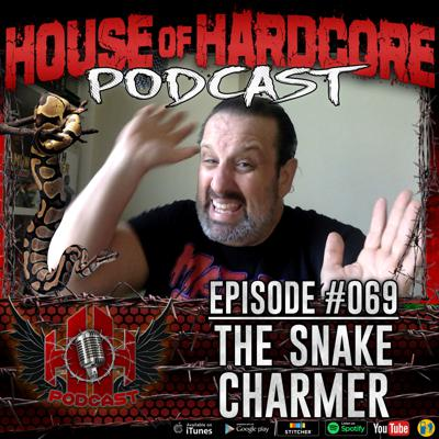 Cover art for Episode #069 - The Snake Charmer with Tommy Dreamer