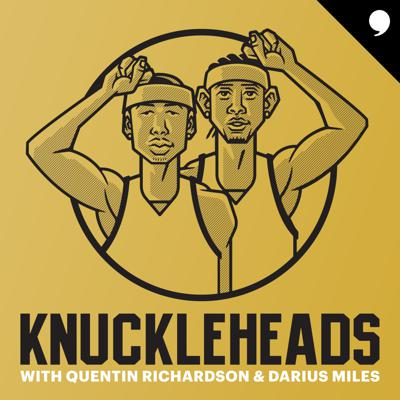Totally unguarded conversations about sports, culture and basketball nostalgia.NBA veterans Quentin Richardson and Darius Miles are lifelong friends and bona fide truth-tellers. Listen as they invite special guests, high-profile athletes, musicians and entertainers to get brutally honest about everything from current events to untold stories from the golden era of sports and culture. Named for the on-court celebration they made wildly popular, this unfiltered, hilarious and surprising podcast is like playing NBA 2K with no fouls.Presented by Hennessy.