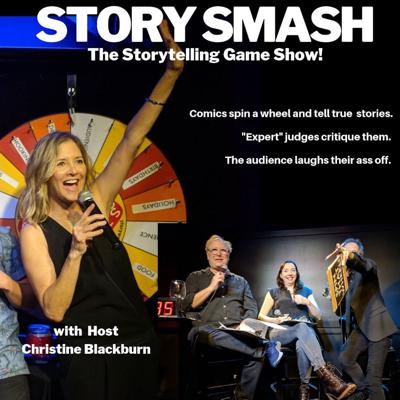 Cover art for 613 - Story Smash the Storytelling Game Show LIVE at the Hollywood Improv