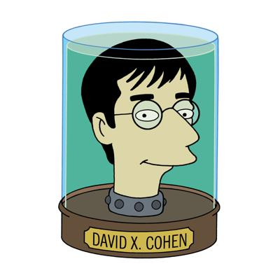 Cover art for David X. Cohen