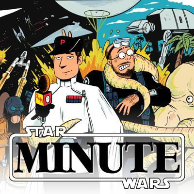 Alex Robinson and Pete The Retailer analyze, criticize and philosophize the STAR WARS movies, one minute at a time.