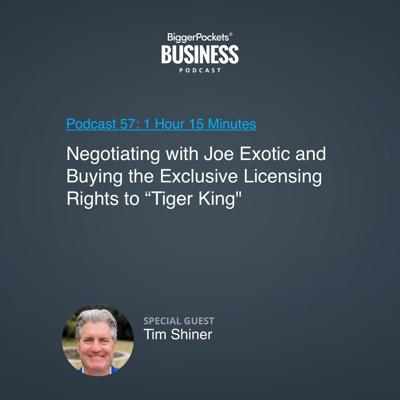 Cover art for 57: Negotiating with Joe Exotic and Buying