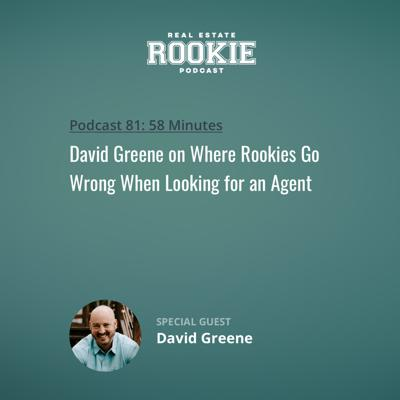 Cover art for David Greene on Where Rookies Go Wrong When Looking for an Agent