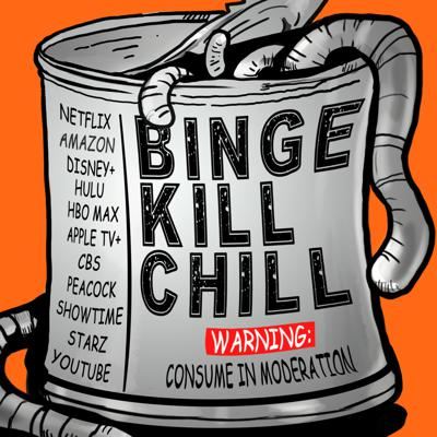 Wondering what to watch? Let the Binge Kill Chill podcast be your guide.Every show expect laughter, ranting, and a politically incorrect pop culture. Whether it's what's new on Netflix, when Friends launches on HBO Max, or what's the best new shows on Amazon and Hulu, the Binge Kill Chill podcast is your streaming guide. From the best Netflix shows to the latest on Disney+ and Peacock hosts TC & Duane dish with pure honesty. Let's be friends.Binge Kill Chill on the web at snipdaily.com